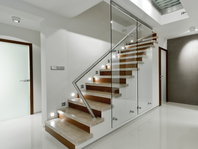 Treppenhausverglasungen